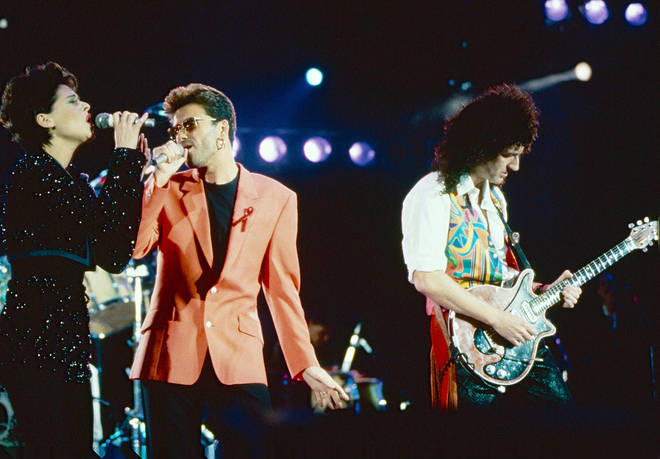 The Freddie Mercury Tribute Concert at Wembley on April 20, 1992