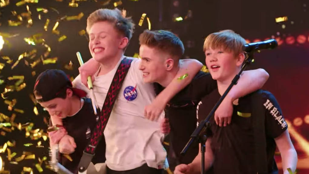Britain S Got Talent Who Are Chapter 13 Meet The Young Band Who Met On School Of Rock Smooth