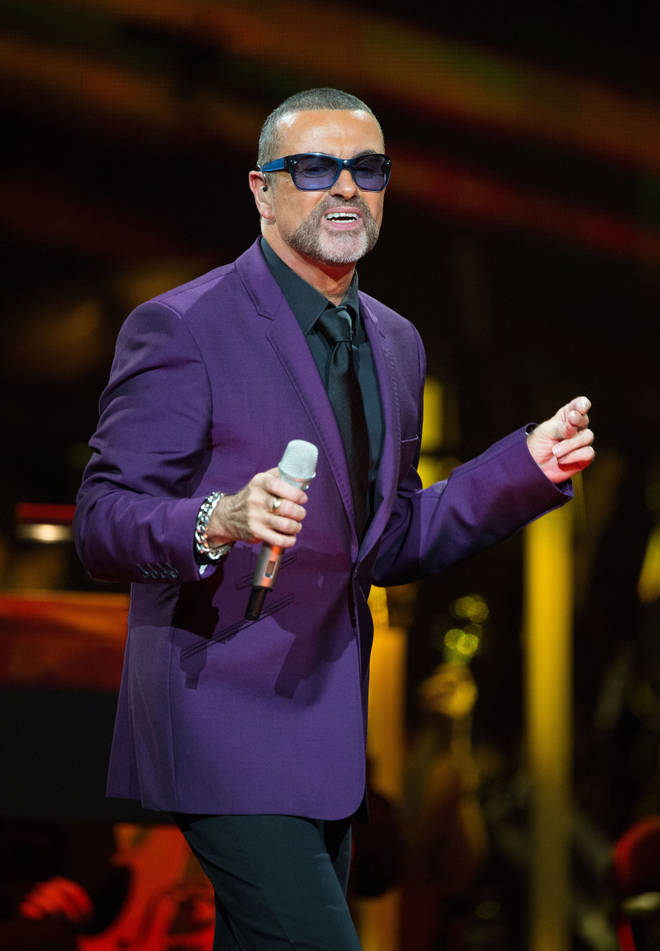 George Michael Performs At Royal Albert Hall In London
