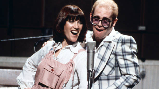 Elton and Kiki Dee