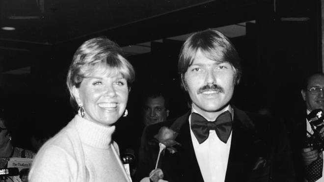 Doris Day And Son Terry Melcher in 1974