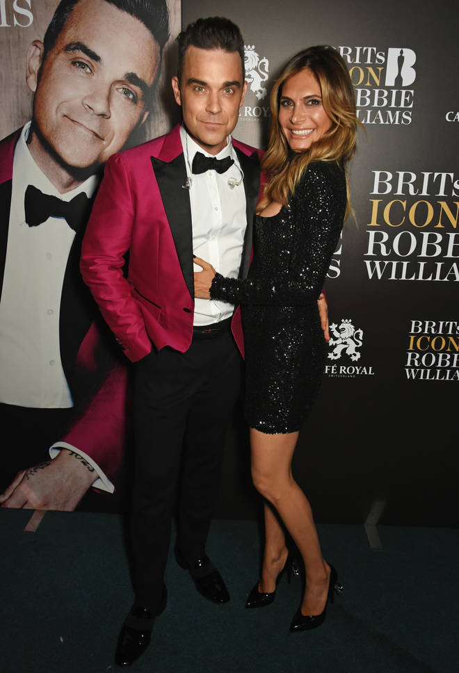 "Robbie Williams has revealed ""his wife"" and ""the paranormal"" are the two constants in his life"