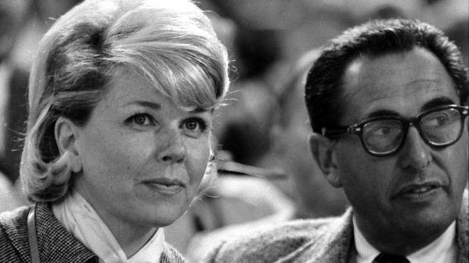 Doris Day and Martin Melcher