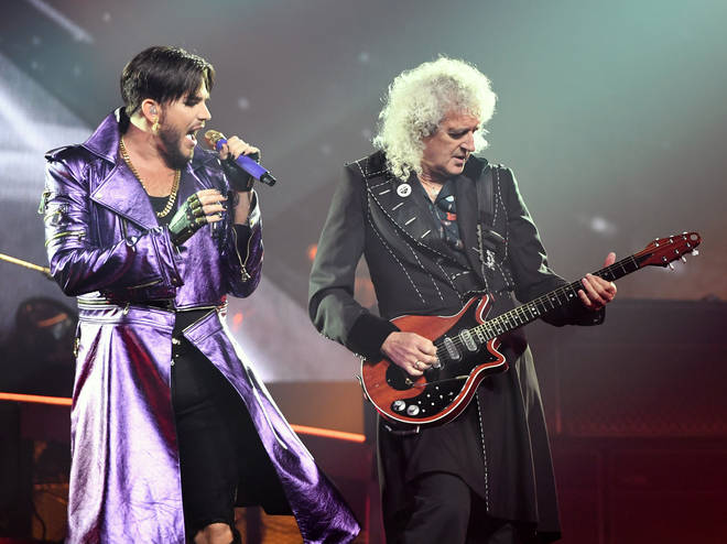 "Queen + Adam Lambert Kick Off ""The Crown Jewels"" At Park MGM"