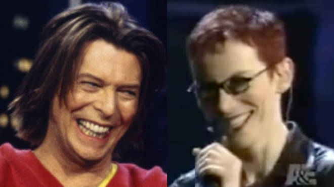 David Bowie prank called Annie Lennox on a live TV show in 2000