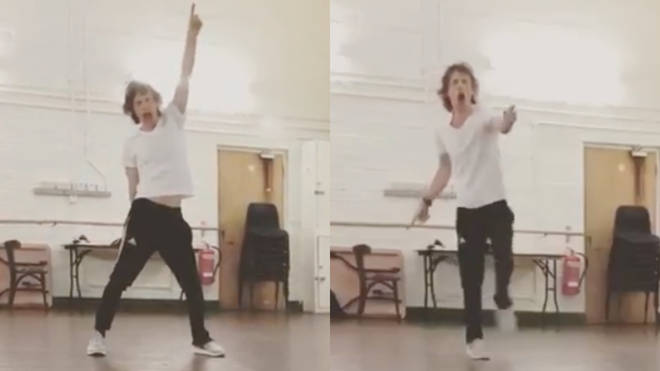 Mick Jagger shows off his moves in a new video