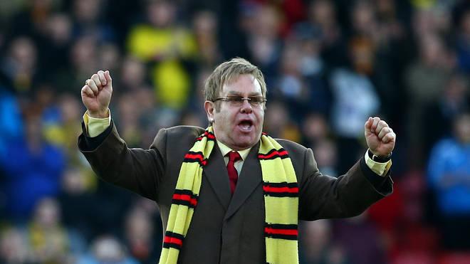 Elton John loves Watford FC