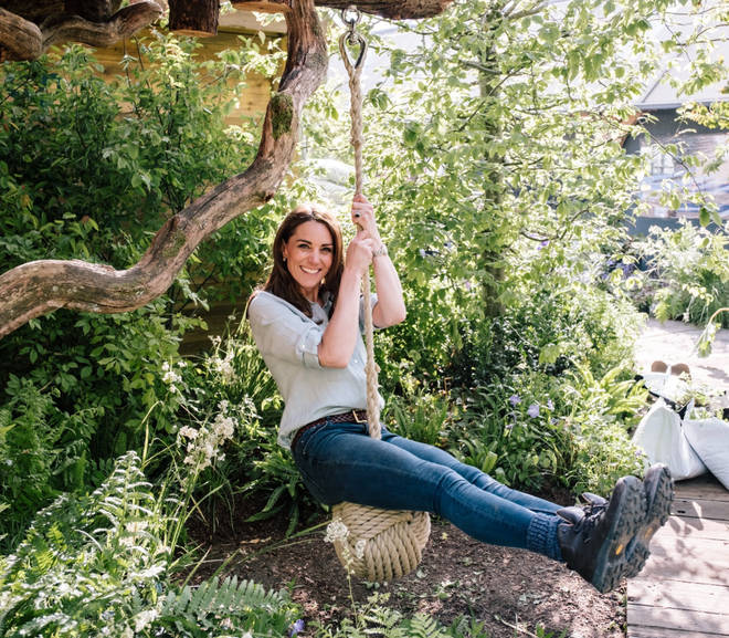 The Chelsea Flower Show garden is for kids young and old – Kate Middleton has a swing in her outdoor playground