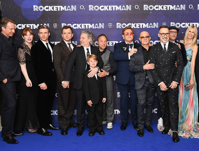 The Rocketman cast and crew