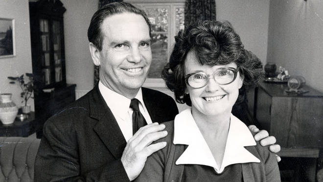 Stanley Dwight with second wife Edna in 1976