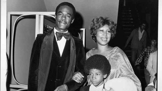 Aretha Franklin with her former husband Glynn and son Kelf in 1978