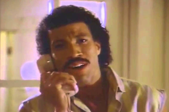 Lionel Richie Hello video
