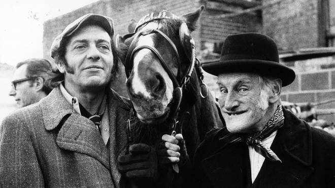 Steptoe And Son with Hercules the Horse