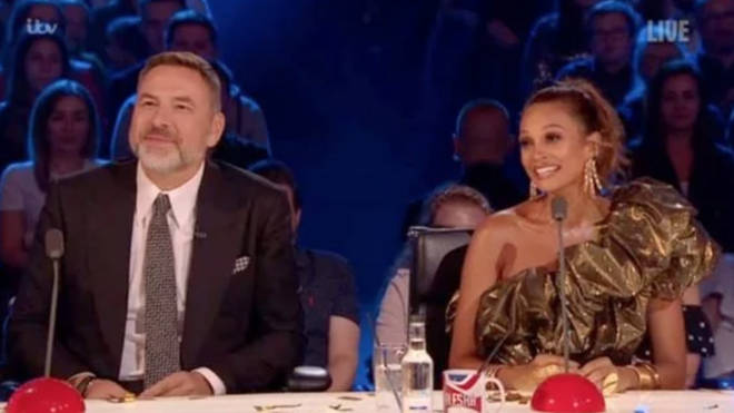 Alesha Dixon announced she is pregnant live on Britain's Got Talent