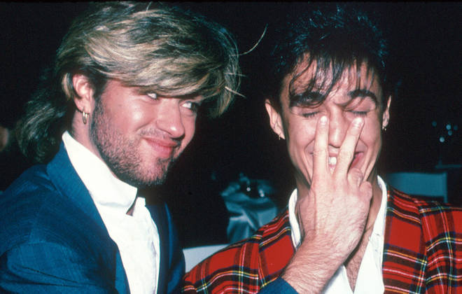 George Michael and bandmate Andrew Ridgeley in pictures