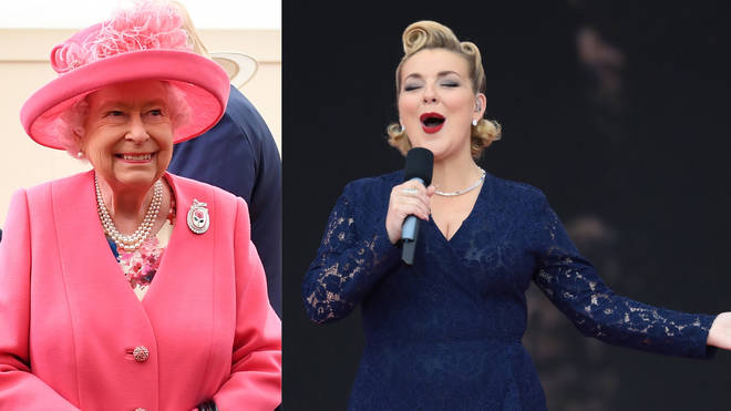 Sheridan Smith performs at the D-Day celebrations