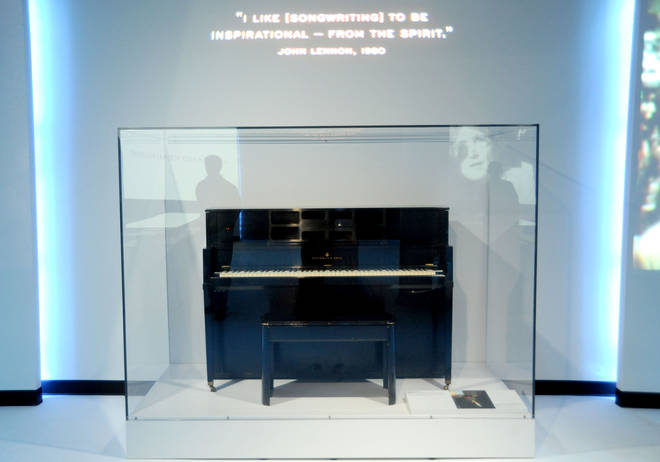 Lennon's piano