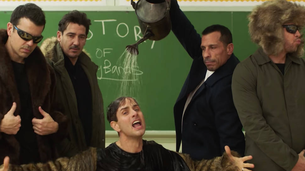 New Kids on the Block's comeback single namechecks Take That, Westlife and other boybands