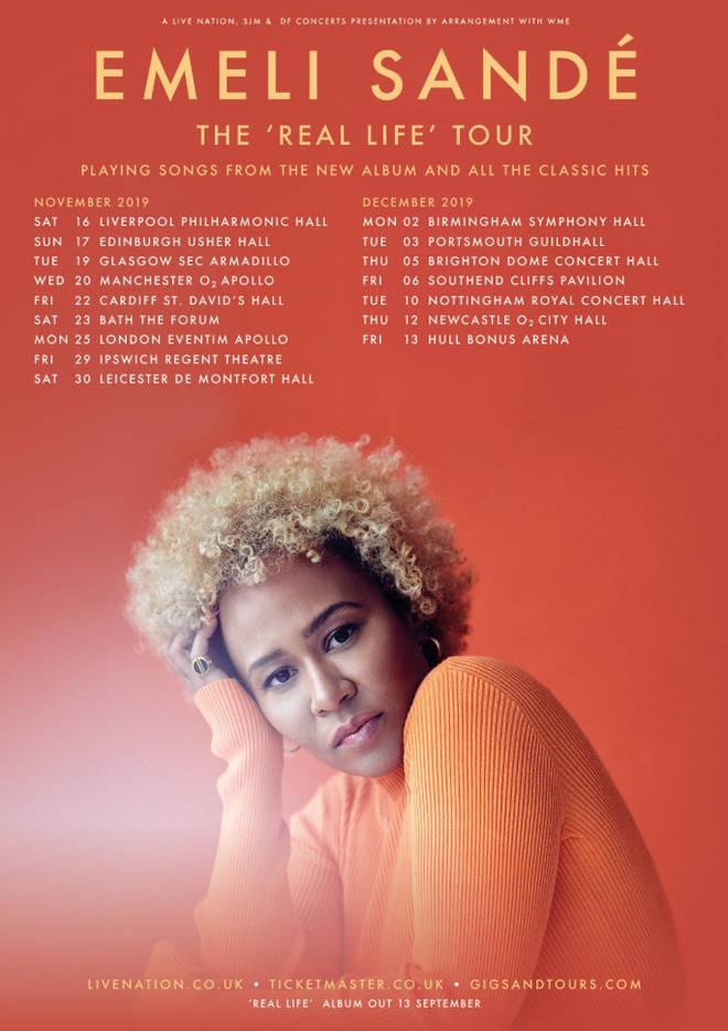 Emeli Sandé 2019 UK tour dates