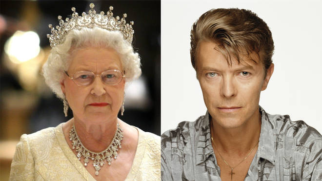 Bowie and the Queen