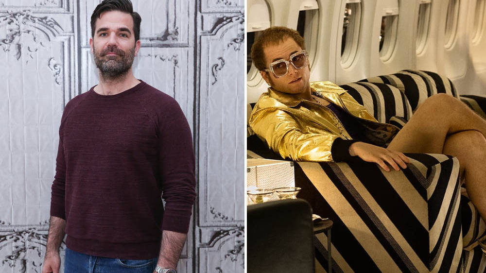 Rob Delaney reveals his scenes as Elvis Presley in Rocketman were cut from the movie