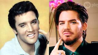 Elvis Presley and Adam Lambert - secret relations?