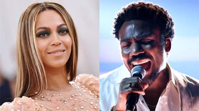 Beyonce and Donald Glover star as Nala and Simba