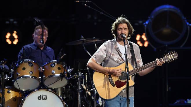 Deacon Frey performing with the Eagles