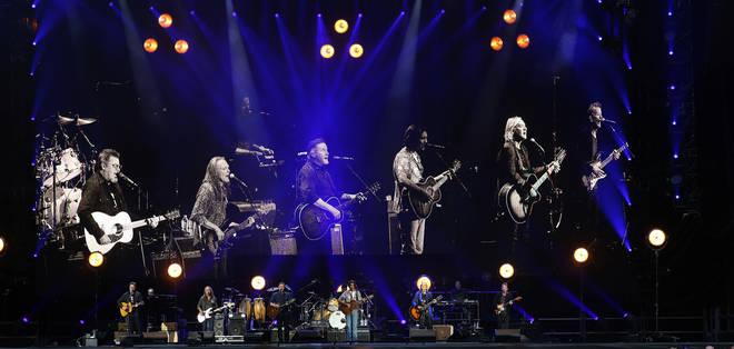 Eagles Perform At Wembley Stadium