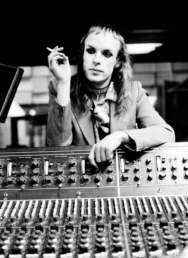 Brian Eno in 1973