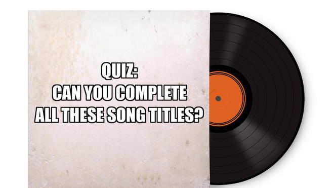 Song title quiz