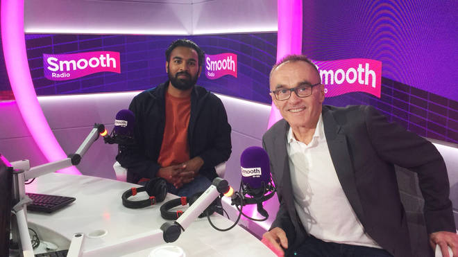 Danny Boyle and Himesh Patel
