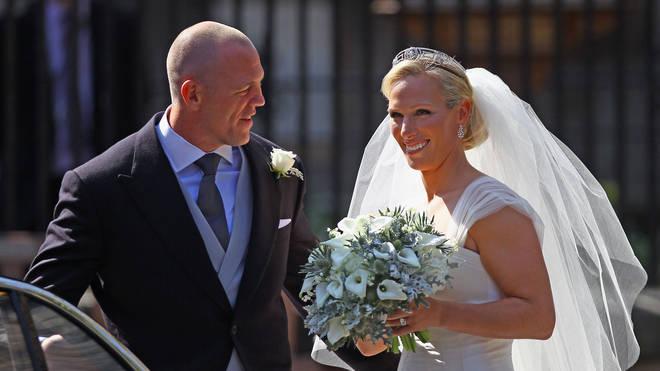 Zara Phillips Marries Mike Tindall In Edinburgh