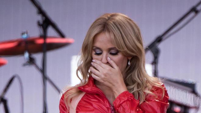 Kylie at Glastonbury