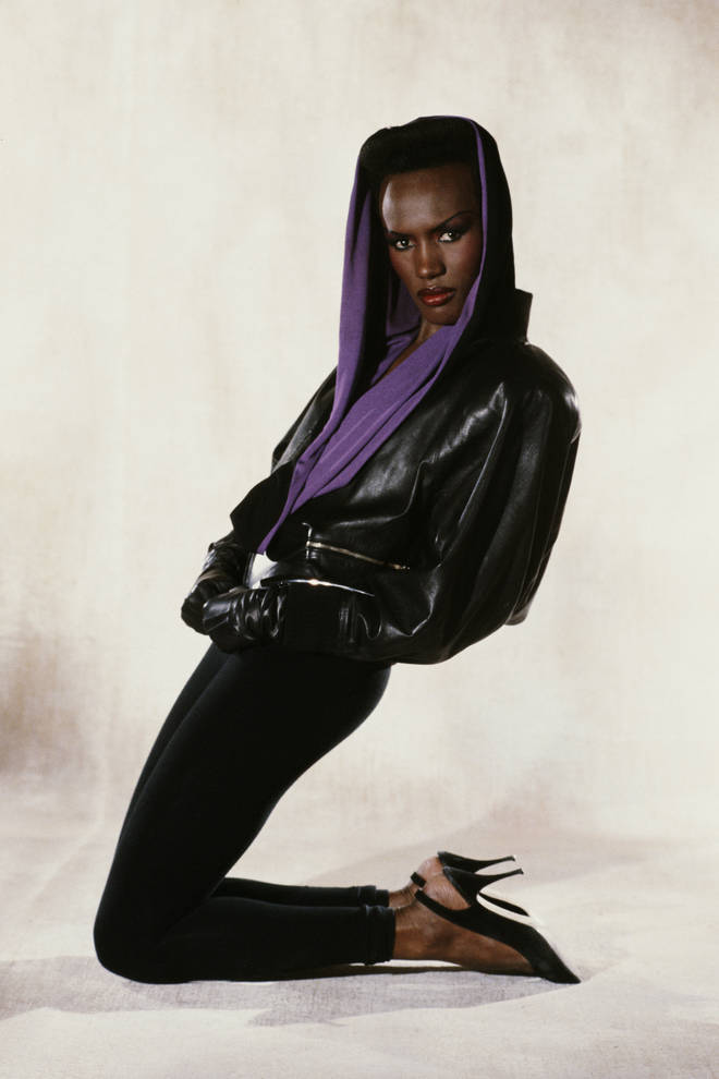 Grace Jones as May Day in the James Bond film 'A View to a Kill'