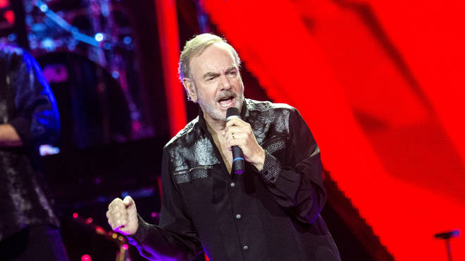 Neil Diamond Performs In Glasgow