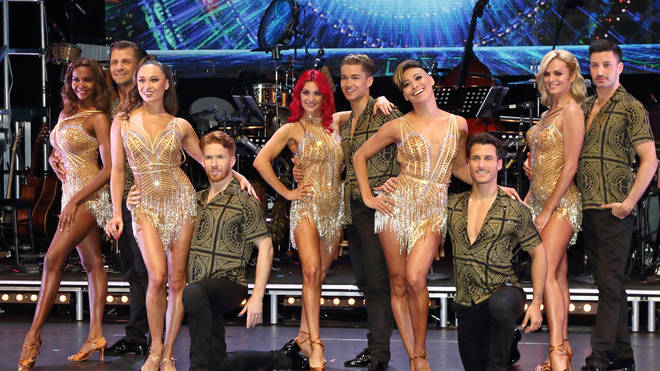 Some of the Strictly Come Dancing professionals