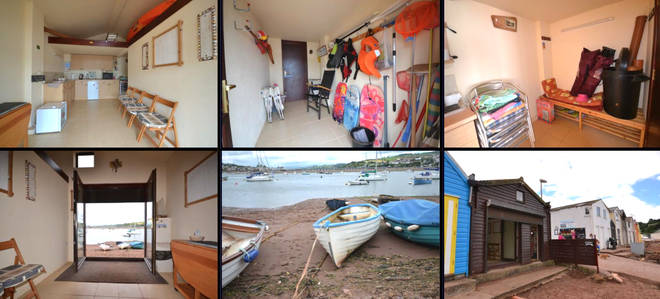 The Teignmouth property will set you back £200,000
