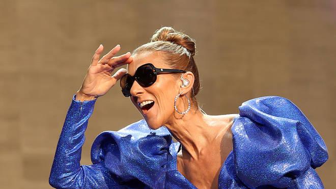 Celine Dion at BST Hyde Park