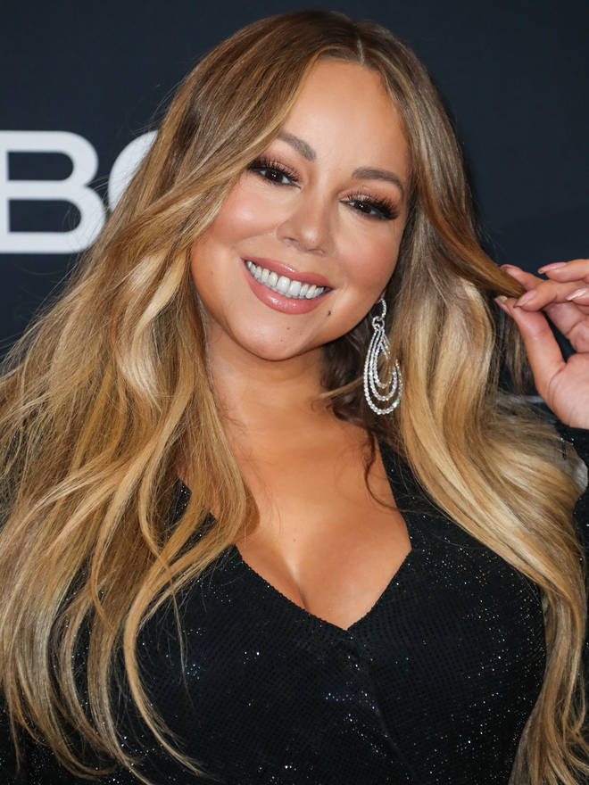 Mariah Carey captioned her video: 'Challenge accepted!'