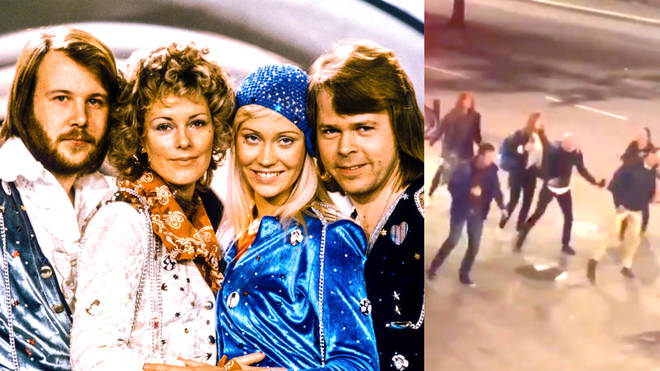 ABBA responds to fans who took over Swedish street for viral dance video