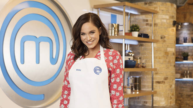 Vicky Pattinson on Celebrity MasterChef 2019