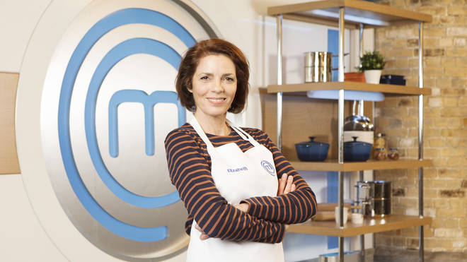 Elizabeth Bourgine on Celebrity MasterChef 2019