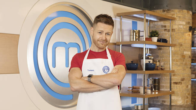 Tomasz Schafernaker on Celebrity MasterChef 2019