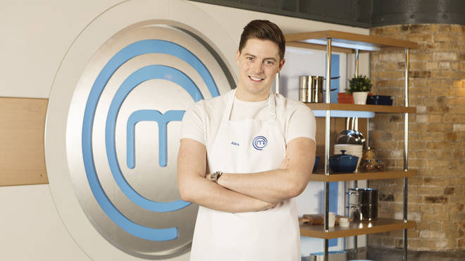 Dr Alex George on Celebrity MasterChef 2019