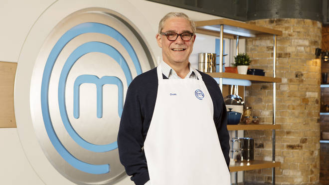 Dom Parker on Celebrity MasterChef 2019