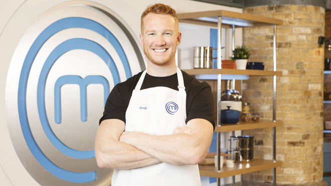 Greg Rutherford on Celebrity MasterChef 2019