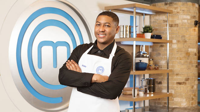Rickie Haywood-Williams on Celebrity MasterChef 2019