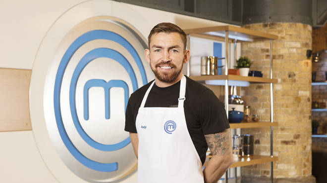 Andy Grant on Celebrity MasterChef 2019