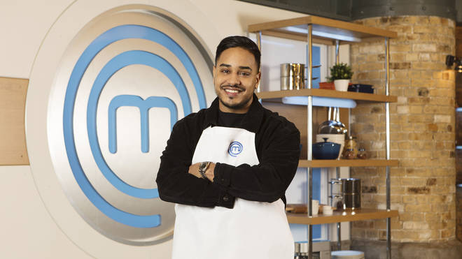 Mim Shaikh on Celebrity MasterChef 2019